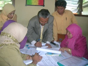 Bimbingan Teknis Penyusunan KTSP untuk Guru-guru MTs 50 Kota